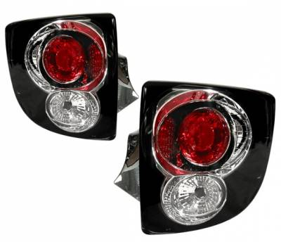 Headlights & Tail Lights - Tail Lights - 4 Car Option - Toyota Celica 4 Car Option Altezza Taillights - Black - LT-TC00B2-YD