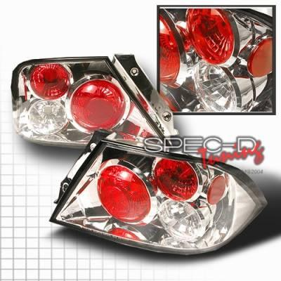 Headlights & Tail Lights - Tail Lights - Custom Disco - Mitsubishi Lancer Custom Disco Chrome Taillights - LT-LAN01-YD