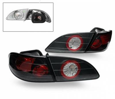 Headlights & Tail Lights - LED Tail Lights - 4CarOption - Toyota Celica 4CarOption Altezza Taillights - LT-TCL98B-YD