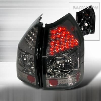 Headlights & Tail Lights - Led Tail Lights - Custom Disco - Dodge Magnum Custom Disco Smoke LED Taillights - LT-MAG05GLED
