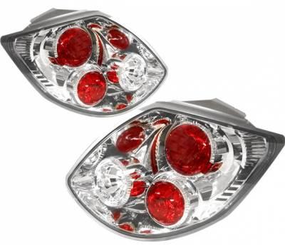 Headlights & Tail Lights - Tail Lights - 4 Car Option - Toyota Matrix 4 Car Option Altezza Taillights - Chrome - LT-TM02A-YD