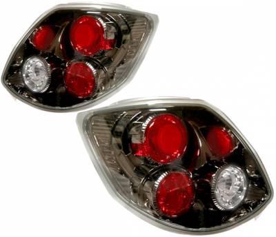 Headlights & Tail Lights - Tail Lights - 4 Car Option - Toyota Matrix 4 Car Option Altezza Taillights - Gunmetal - LT-TM02G-YD