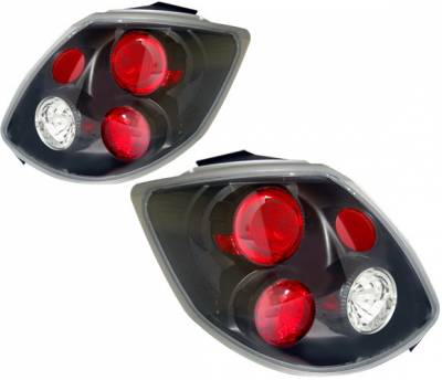 Headlights & Tail Lights - Tail Lights - 4 Car Option - Toyota Matrix 4 Car Option Altezza Taillights - Black - LT-TM02JB-YD