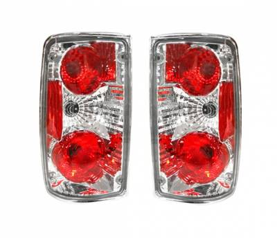 Headlights & Tail Lights - Tail Lights - 4 Car Option - Toyota Pickup 4 Car Option Altezza Taillights - Chrome - LT-TP89A-YD