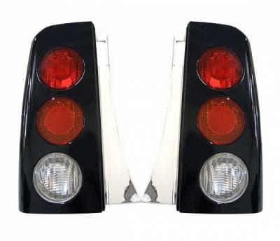 Headlights & Tail Lights - Tail Lights - 4 Car Option - Scion xB 4 Car Option Altezza Taillights - Black - LT-TS01B1