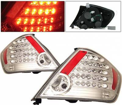 Headlights & Tail Lights - Led Tail Lights - 4 Car Option - Scion tC 4 Car Option LED Taillights - Clear - LT-TSTC04LEDC-KS