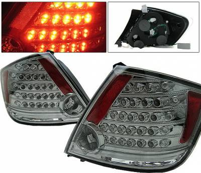 Headlights & Tail Lights - Led Tail Lights - 4 Car Option - Scion tC 4 Car Option LED Taillights - Smoke - LT-TSTC04LEDSM-KS