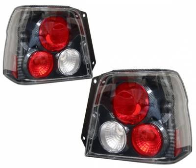 Headlights & Tail Lights - Tail Lights - 4 Car Option - Toyota Tercel 4 Car Option Altezza Taillights - Carbon Fiber Style - LT-TT92F-YD