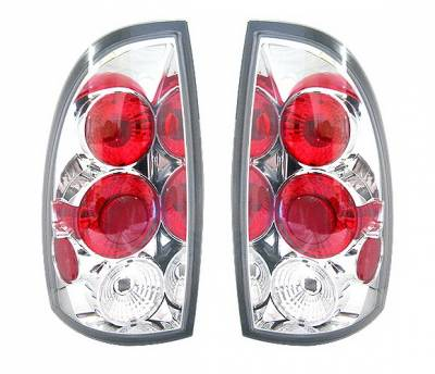 Headlights & Tail Lights - Tail Lights - 4 Car Option - Toyota Tacoma 4 Car Option Altezza Taillights - Chrome - LT-TTA05A-5