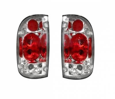 Headlights & Tail Lights - Tail Lights - 4 Car Option - Toyota Tacoma 4 Car Option Altezza Taillights - Chrome - LT-TTA99A-YD