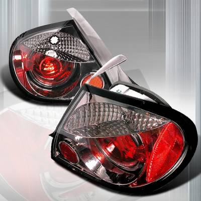 Headlights & Tail Lights - Tail Lights - Custom Disco - Dodge Neon Custom Disco Version 2 Taillights - LT-NEO03G-YD