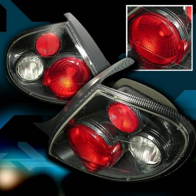 Headlights & Tail Lights - Tail Lights - Custom Disco - Dodge Neon Custom Disco Taillights - LT-NEO99CF-YD