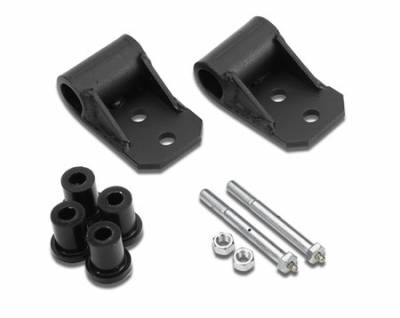 Suspension - Shackles Hangers - Warrior - Jeep CJ7 Warrior Shackle Frame Brackets with Greasable Bushings & Bolts - 403