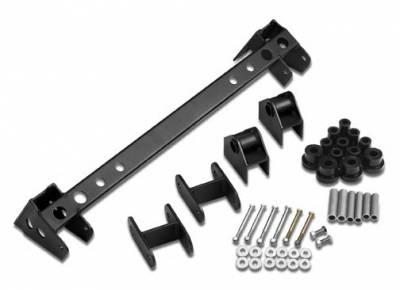 Suspension - Shackles Hangers - Warrior - Jeep Wrangler Warrior Shackle Reverse System - SR 180-3