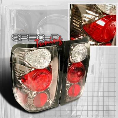 Headlights & Tail Lights - Tail Lights - Custom Disco - Ford Ranger Custom Disco Gunmetal Taillights - LT-RAN98G-YD