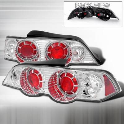 Headlights & Tail Lights - Tail Lights - Custom Disco - Acura RSX Custom Disco Chrome Taillights - LT-RSX02-YD
