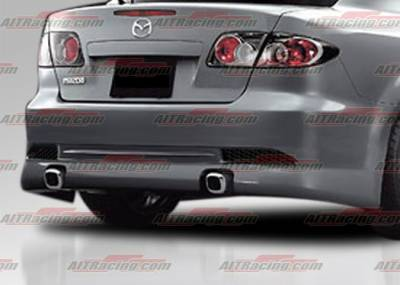 6 4Dr - Rear Bumper - AIT Racing - Mazda 6 AIT Racing KS Style Rear Bumper - M602HIKENRB