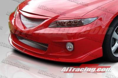 6 4Dr - Front Bumper - AIT Racing - Mazda 6 AIT Racing Max Style Front Bumper - M602HIMAXFB