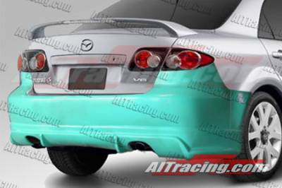 6 4Dr - Rear Bumper - AIT Racing - Mazda 6 AIT Racing Mint Style Rear Bumper - M602HIMINRB