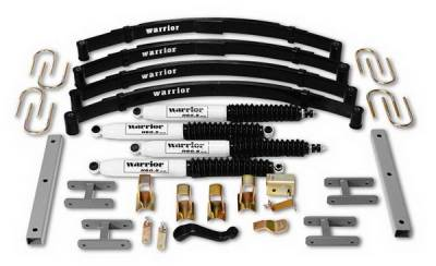 Suspension - Shocks - Warrior - Jeep Wrangler Warrior Front Shocks - 60501