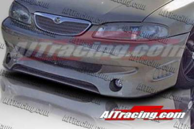 626 - Front Bumper - AIT Racing - Mazda 626 AIT Racing Wize Style Front Bumper - M62698HIWIZFB