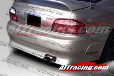 626 - Rear Bumper - AIT Racing - Mazda 626 AIT Racing Wize Style Rear Bumper - M62698HIWIZRB