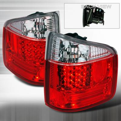 Headlights & Tail Lights - LED Tail Lights - Custom Disco - Chevrolet S10 Custom Disco Red LED Taillights - LT-S1094RLED-YD