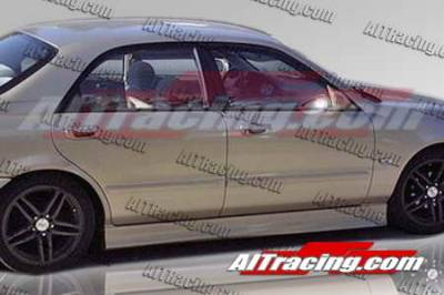 626 - Side Skirts - AIT Racing - Mazda 626 AIT Racing Wize Style Side Skirts - M62698HIWIZSS