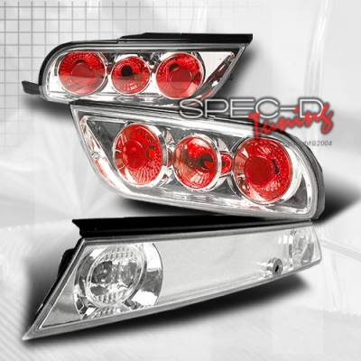 Headlights & Tail Lights - Tail Lights - Custom Disco - Nissan 240SX Custom Disco Clear Taillights - 3PC - LT-S13893