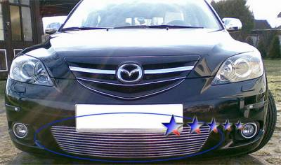 Grilles - Custom Fit Grilles - APS - Mazda 3 APS Grille - M66237A