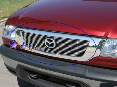 Grilles - Custom Fit Grilles - APS - Mazda B2300 APS Grille - M66238A