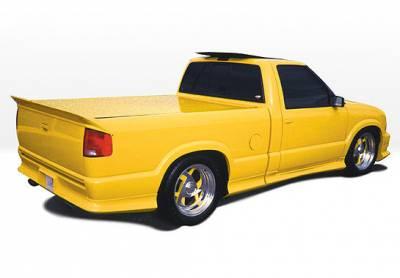 S10 - Side Skirts - VIS Racing - Chevrolet S10 VIS Racing Custom Style Left Side Skirt - 890003
