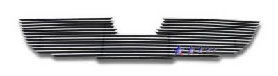Grilles - Custom Fit Grilles - APS - Mazda Tribute APS Billet Grille - Bumper - Aluminum - M66649A