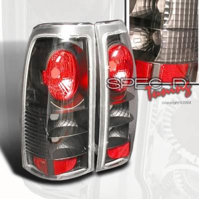Headlights & Tail Lights - Tail Lights - Custom Disco - Chevrolet Silverado Custom Disco Smoke Taillights - LT-SIV99JM-YD