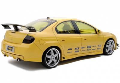 Neon 2Dr - Side Skirts - VIS Racing - Dodge Neon VIS Racing Racing Series Left Side Skirt Rear Door Cap - 890801