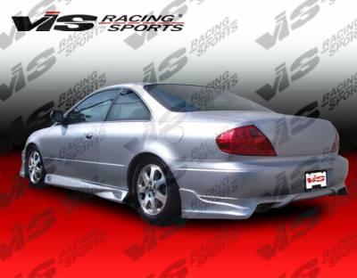 CL - Side Skirts - VIS Racing - Acura CL VIS Racing Demon Side Skirts - 00ACCL2DDEM-004