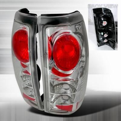 Headlights & Tail Lights - Tail Lights - Custom Disco - Chevrolet Silverado Custom Disco Clear Taillights - LT-SIV99-YD