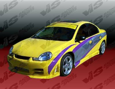 Neon 4Dr - Side Skirts - VIS Racing - Dodge Neon 4DR VIS Racing Octane Side Skirts - 00DGNEO4DOCT-004