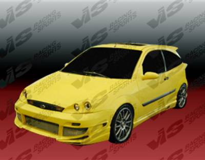 Focus 4Dr - Side Skirts - VIS Racing. - Ford Focus VIS Racing AVG Side Skirts - 00FDFOC2DAVG-004