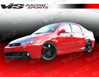 Focus 4Dr - Side Skirts - VIS Racing - Ford Focus VIS Racing DTM Side Skirts - 00FDFOC2DDTM-004