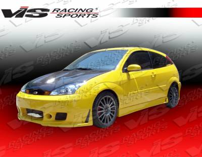 Focus 4Dr - Side Skirts - VIS Racing - Ford Focus VIS Racing TSC-3 Side Skirts - 00FDFOC2DTSC3-004