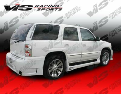 Yukon - Side Skirts - VIS Racing - GMC Yukon VIS Racing Outcast Side Skirts - 00GMYUK4DOC-004