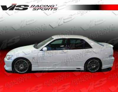 IS - Side Skirts - VIS Racing - Lexus IS VIS Racing Tracer Side Skirts - 00LXIS34DTRA-004