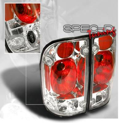 Headlights & Tail Lights - Tail Lights - Custom Disco - Toyota Tacoma Custom Disco Chrome Taillights - LT-TAC95-YD