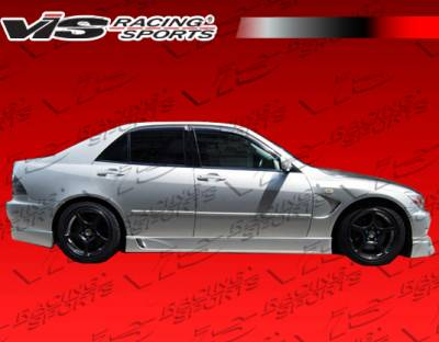 IS - Side Skirts - VIS Racing - Lexus IS VIS Racing Wize Side Skirts - 00LXIS34DWIZ-004