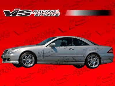 CL Class - Side Skirts - VIS Racing - Mercedes-Benz CL Class VIS Racing B-Spec Side Skirts - 00MEW2152DBSC-004