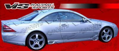 CL Class - Side Skirts - VIS Racing - Mercedes-Benz CL Class VIS Racing Laser F1 Side Skirts - 00MEW2152DLF1-004