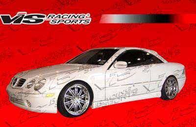 CL Class - Side Skirts - VIS Racing - Mercedes-Benz CL Class VIS Racing Laser Side Skirts - 00MEW2152DLS-004