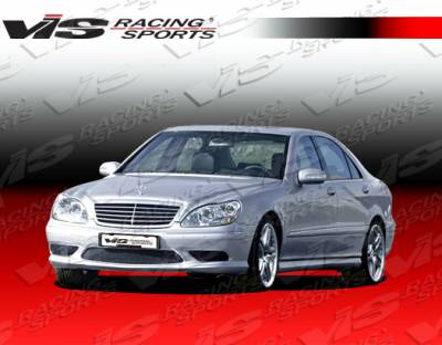 S Class - Side Skirts - VIS Racing - Mercedes-Benz S Class VIS Racing Euro Tech Side Skirts - 00MEW2204DET-004