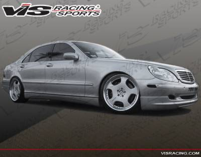 S Class - Side Skirts - VIS Racing - Mercedes-Benz S Class VIS Racing VIP Side Skirts - 00MEW2204DVIP-004